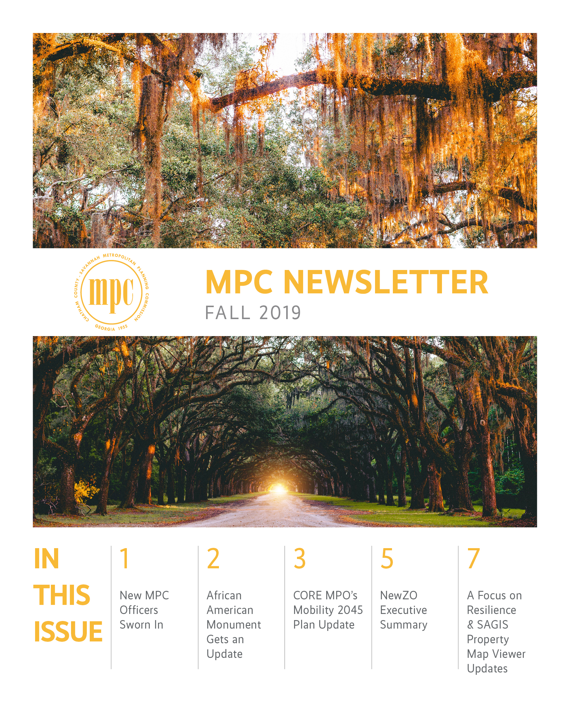 MPC Fall Newsletter
